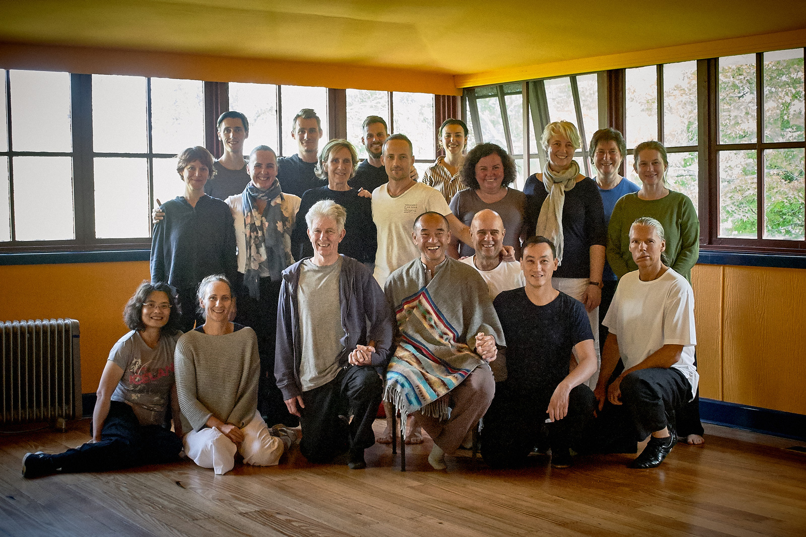 2020 Ziran Qigong Instructor Training Retreat, Maitripa Centre, Healesville